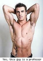 he is hot
