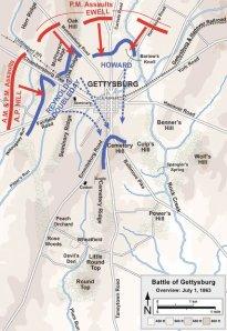 Gettysburg, Day 1