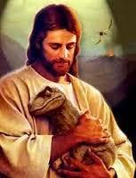 Jesus Velociraptor