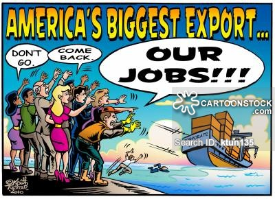 'America's Biggest Export, Our Jobs!!'